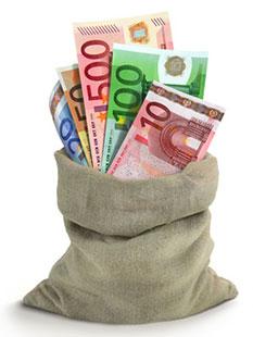 Bild Geld für Kurzzeitkredit