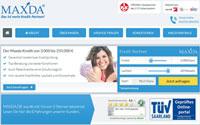 maxda webseite